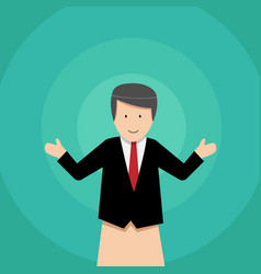 businessman puppet dolls design vector image