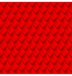 Red dragon scales seamless background texture vector image