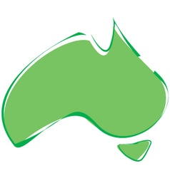 Abstract Australia vector image