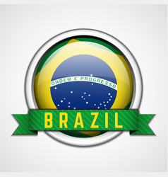 Brazil badge vector