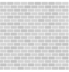 Brick background seamless brick wall pattern vector