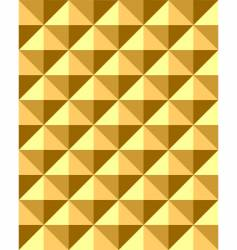 Pyramid pattern vector
