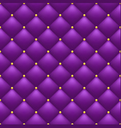 quilted purple background vector image