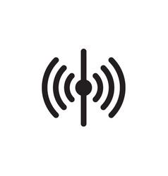 Sensor icon isolated on white background vector