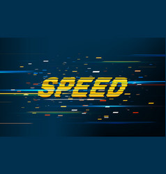 Speed movement pattern background vector