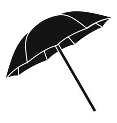 Umbrella icon simple style vector