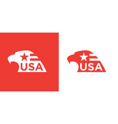 usa bald eagle icon vector image