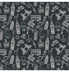 England seamless Pattern vector image vector image