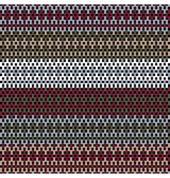 jumper fabric vector image vector image