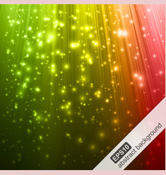 Abstract background with colorful magic light vector image vector image