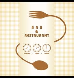 Restaurant menu design stock vector image vector image