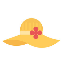 Floppy hat vector