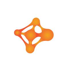 meta ball icon design vector image