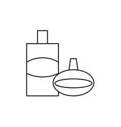 perfume icon vector image