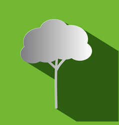 Tree - flat design icon vector