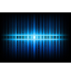 vertical lines abstract blue dark vector image