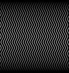 Wavy billowy zigzag lines vector