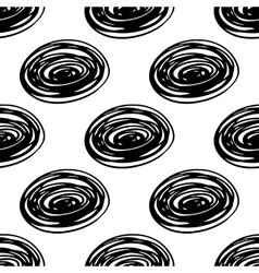 Seamless scribble pattern vector image vector image