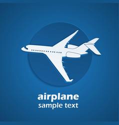 plane 2 vector image