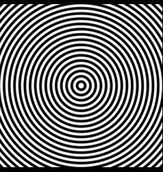 Concentric repeating rings vector