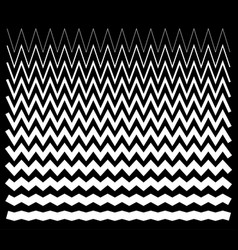 Edgy pointed zig zag lines jagged lines vector