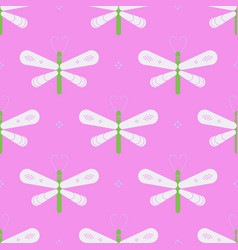 Geometric dragonfly geometric pattern vector