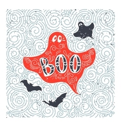 Halloween Ghost vector image
