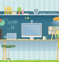 Work table vector