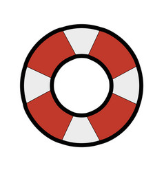 safety float icon vector image