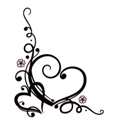 valentines day wedding vector image