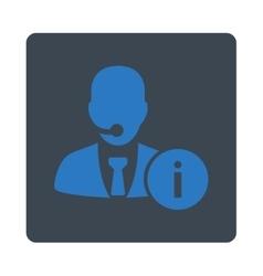 Help desk icon vector image