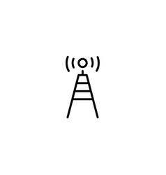 Antenna wireless icon vector