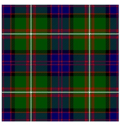 Clan Donald Tartan Plaid Pattern Seamless Design vector