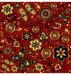 decorative wallpaper pattern vector image
