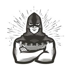 Masked executioner symbol execution vector