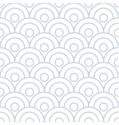 spiral circles abstract seamless background vector image vector image