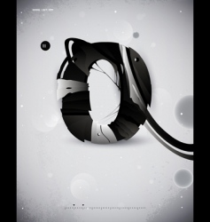 Abstract forms vector