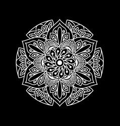 Artistic mandala design art vector