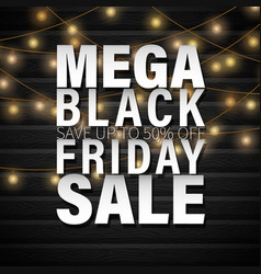 Black frida christmas sale vector
