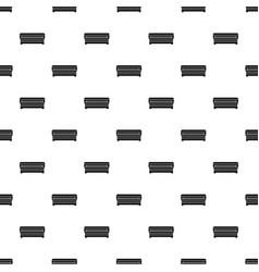 Coffin pattern vector