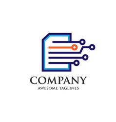 Digital print document book vector