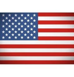 flag united states america independence vector image