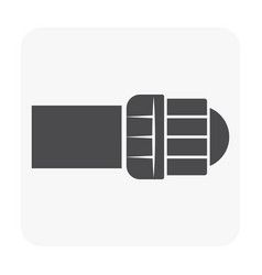 hdpe pipe icon vector image