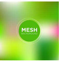mesh background in spring color palette vector image