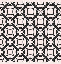 Monochrome seamless pattern repeat mosaic texture vector