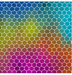 Mosaic green blue pink pattern texture background vector