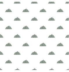 Mountain pattern seamless vector