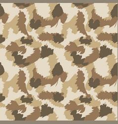 Seamless set camouflage desert pattern vector