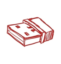 Usb memory icon Technology design graphic vector image