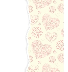 Abstract pattern with torn paper vector
